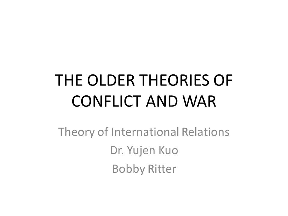 conflict theory in the elderly