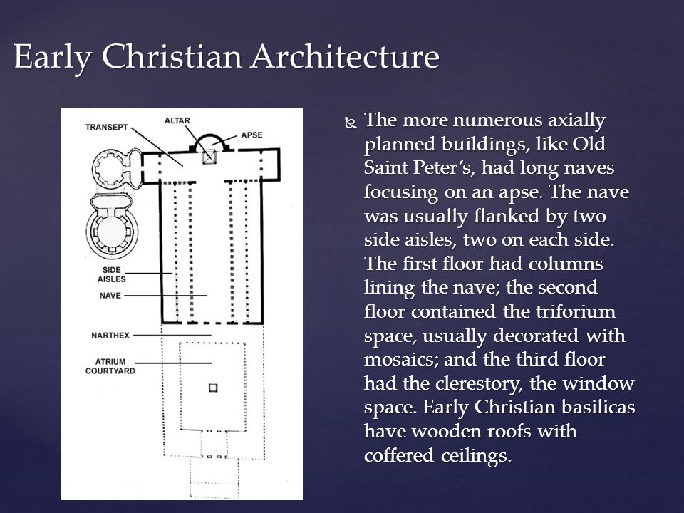 Early Christian Architecture