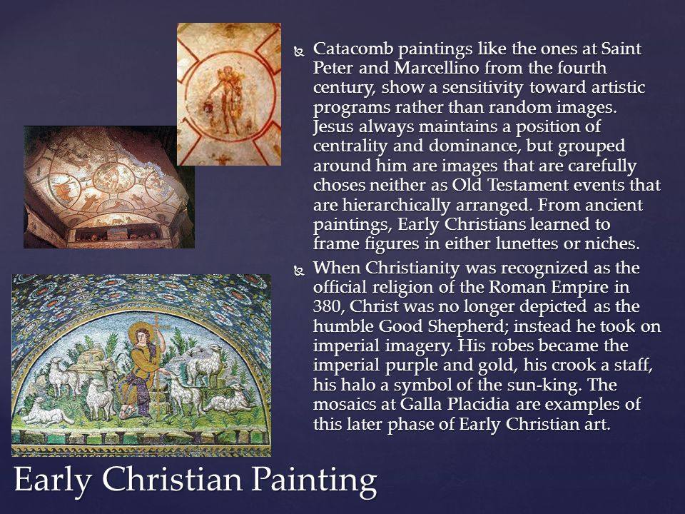 Early Christian Painting