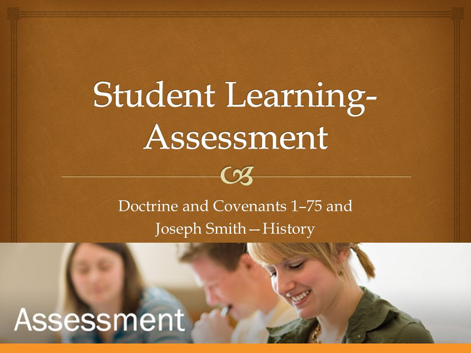 Student Learning-Assessment
