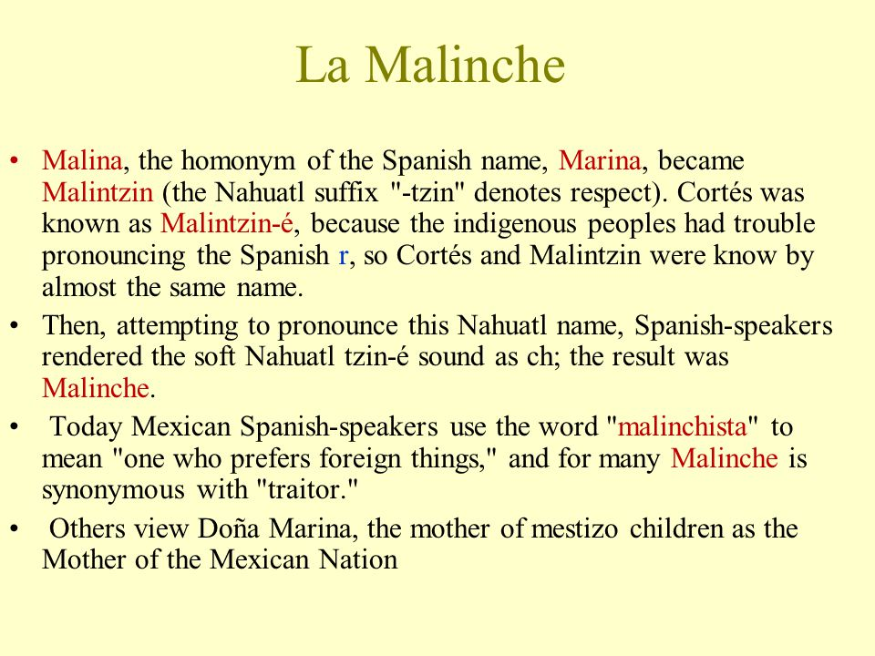 La Malinche