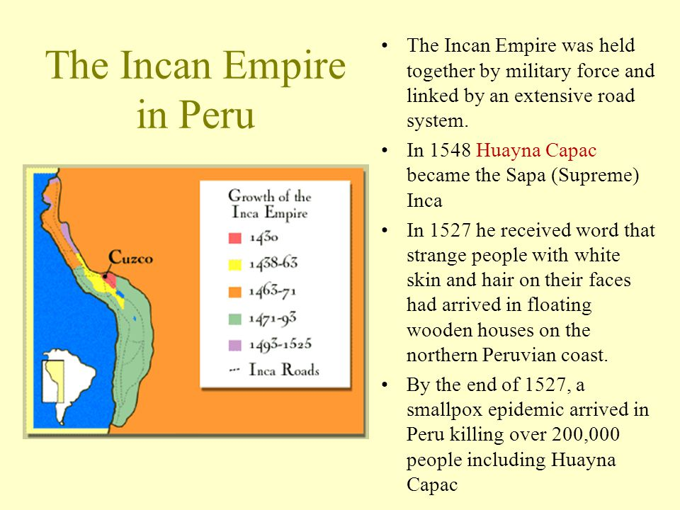 The Incan Empire in Peru