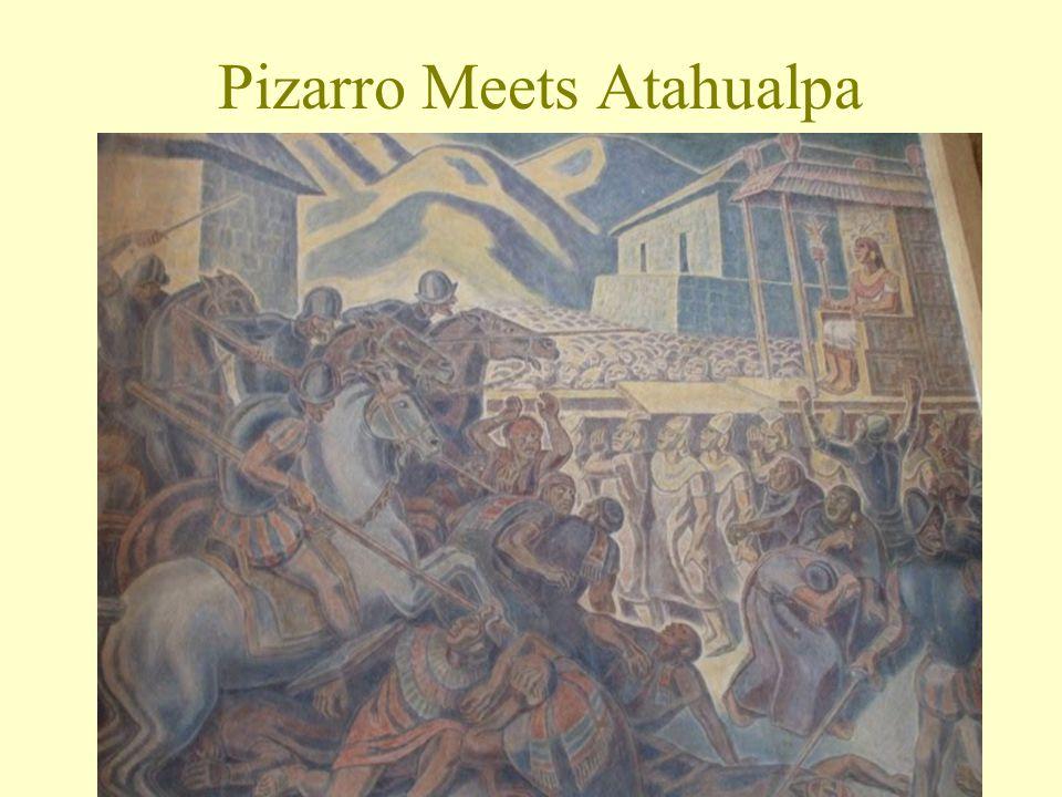 Pizarro Meets Atahualpa