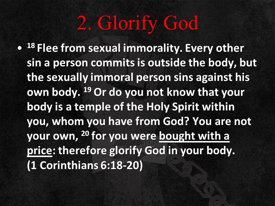 2. Glorify God