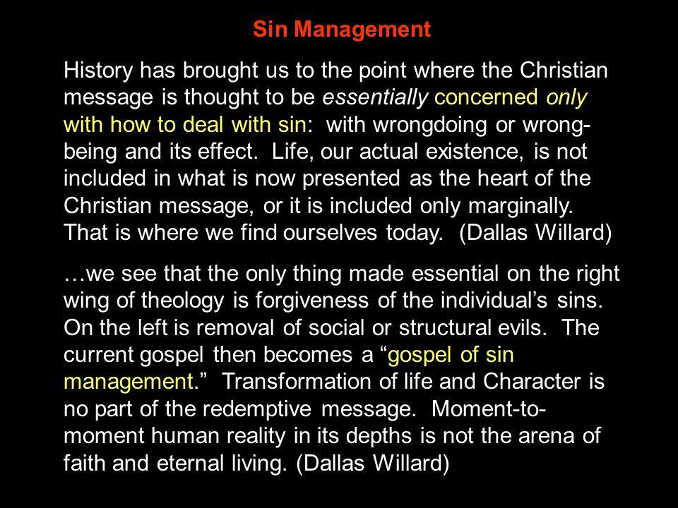 Sin Management