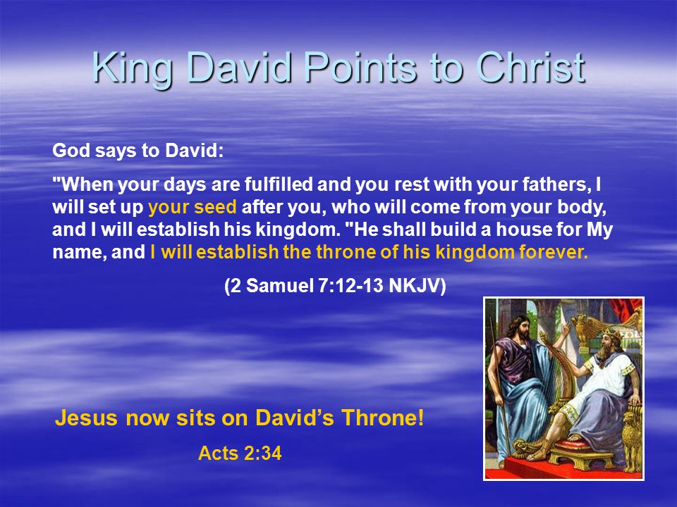 King David Points to Christ