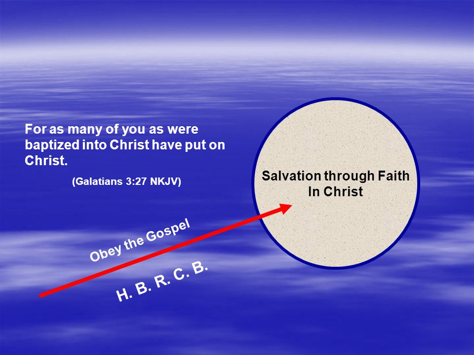 Salvation through Faith