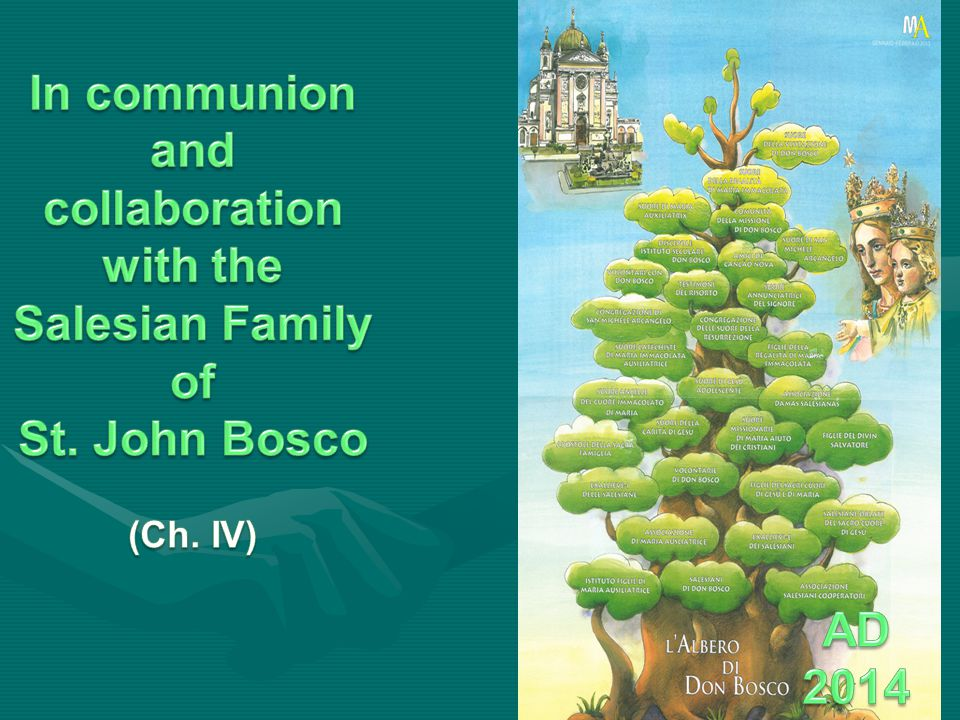 In communion and collaboration with the Salesian Family of