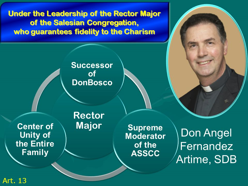 Supreme Moderator of the ASSCC Center of Unity of the Entire Family
