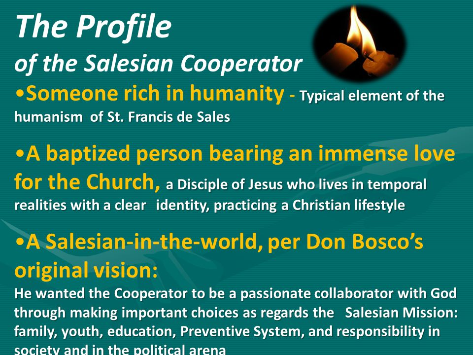 The Profile of the Salesian Cooperator