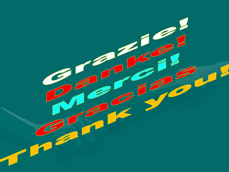 Grazie! Danke! Merci! Gracias Thank you!