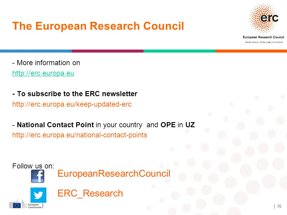 The European Research Council