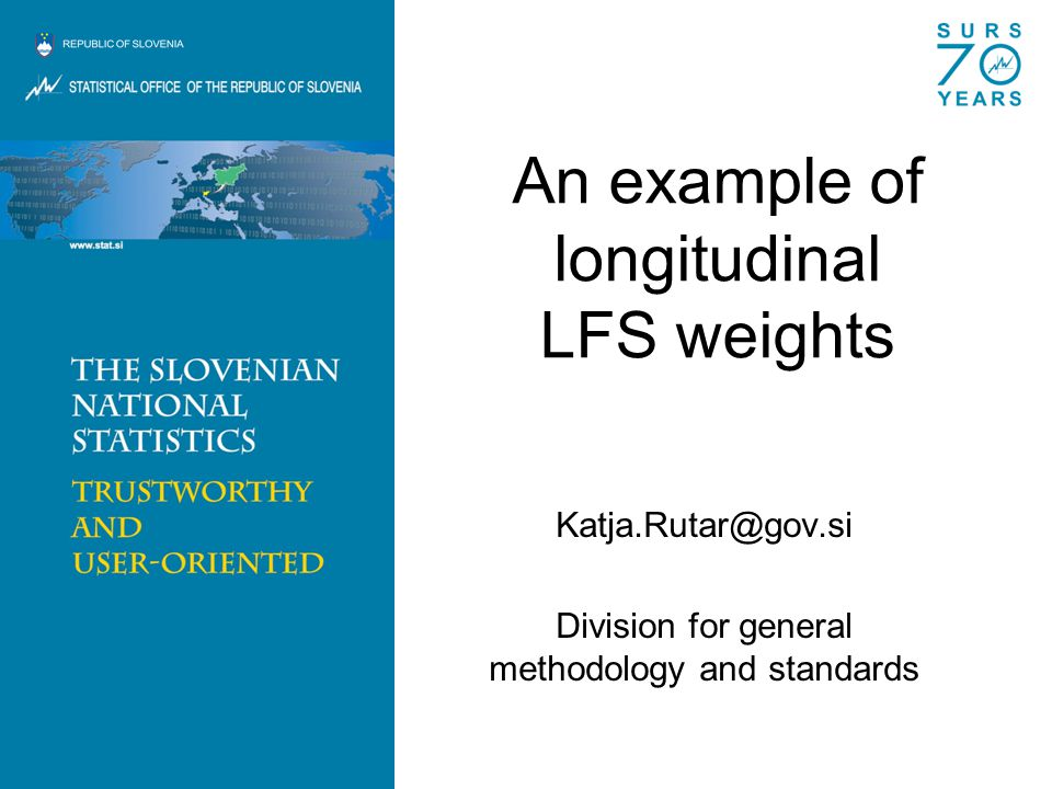 An example of longitudinal LFS weights