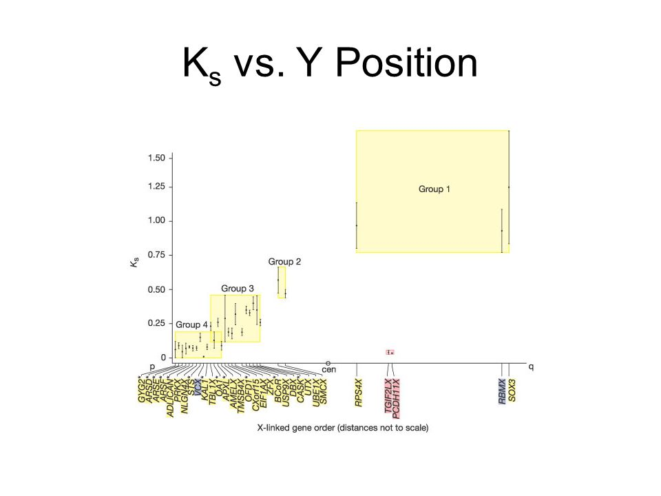 Ks vs. Y Position