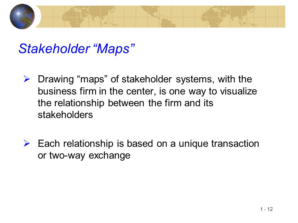 Stakeholder Maps