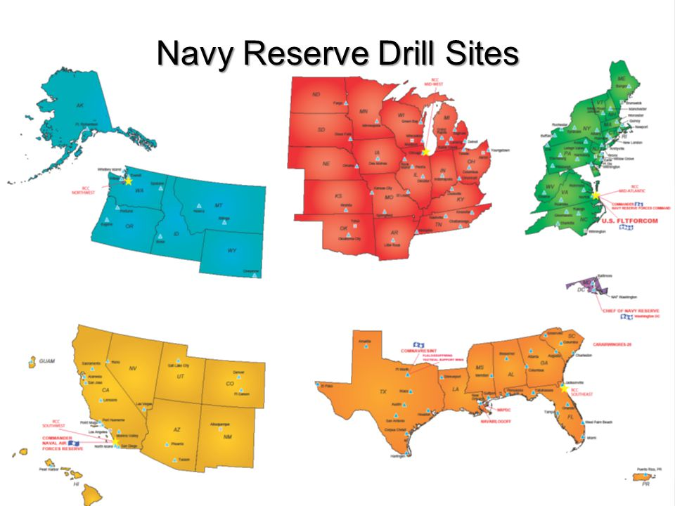 Navy Reserve Drill Sites