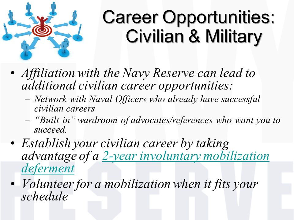 Career Opportunities: Civilian & Military