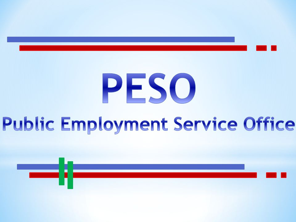 Public Employment Service Office