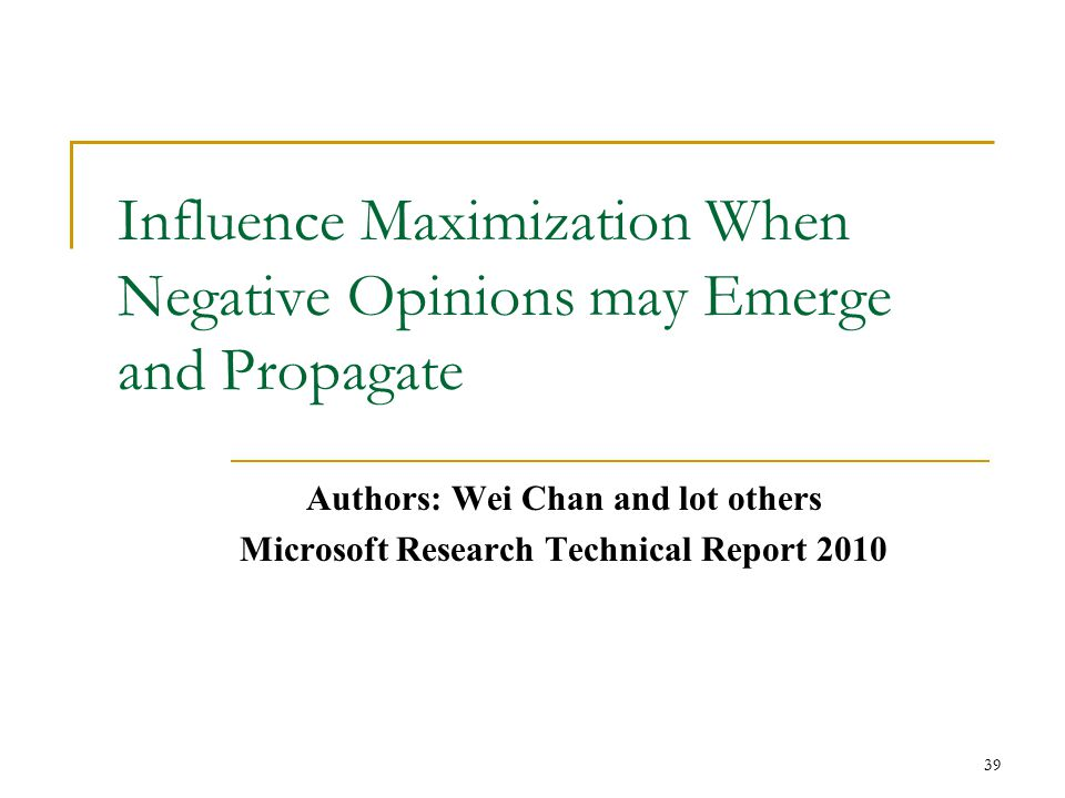 Influence Maximization When Negative Opinions may Emerge and Propagate