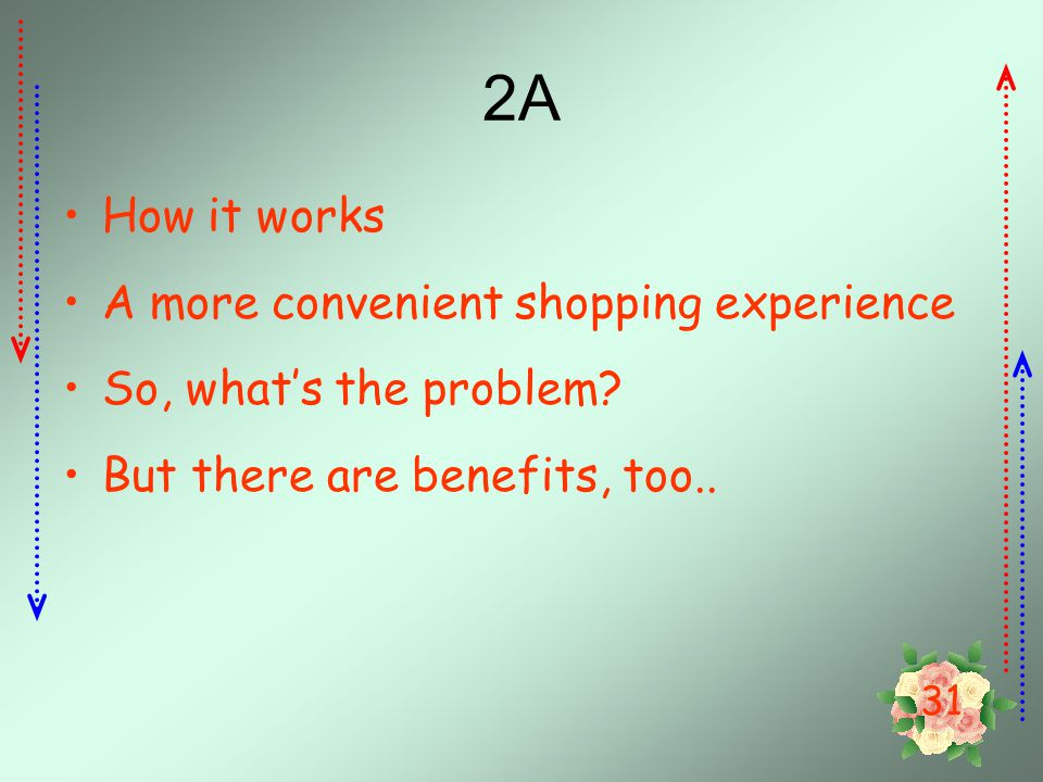 2A How it works A more convenient shopping experience