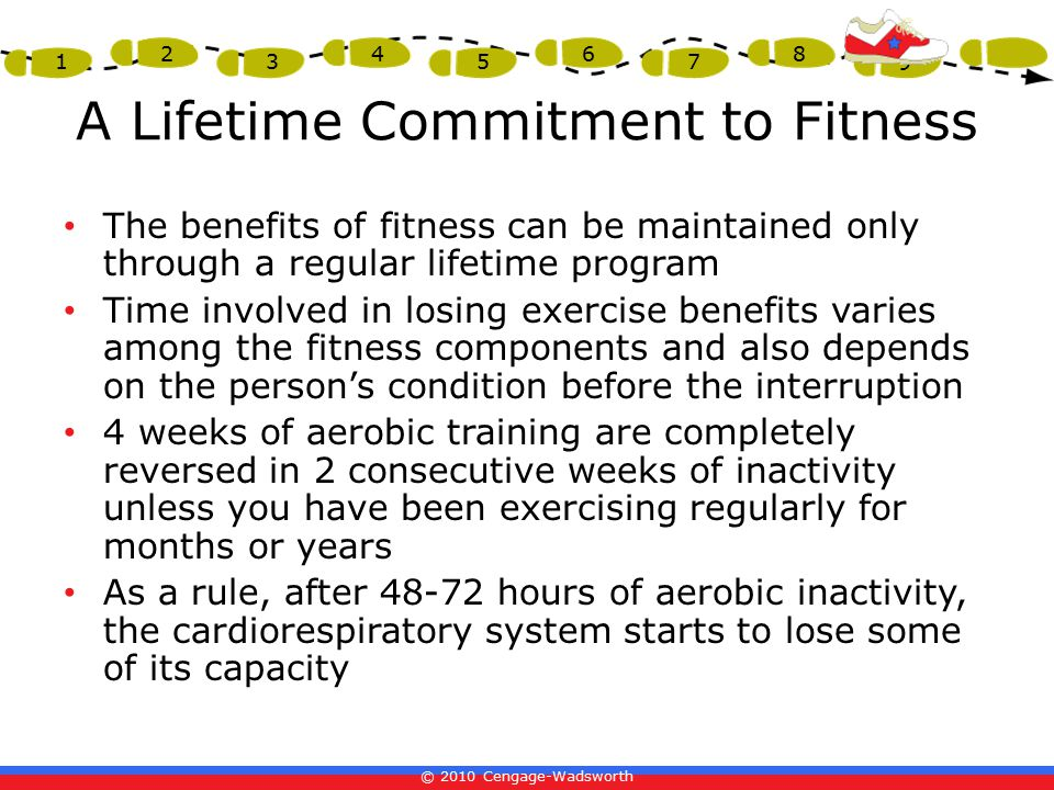 A Lifetime Commitment to Fitness