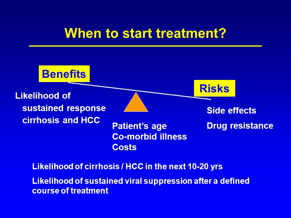 When to start treatment