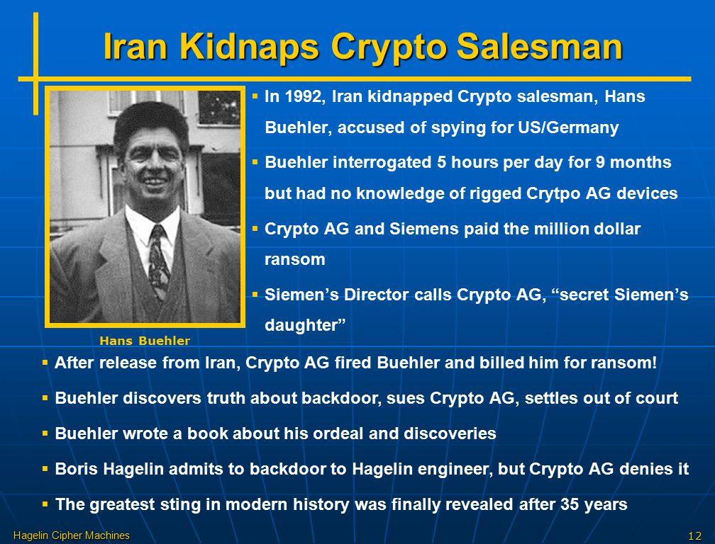 Iran Kidnaps Crypto Salesman