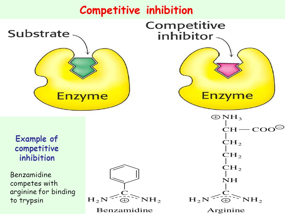 Example of competitive inhibition