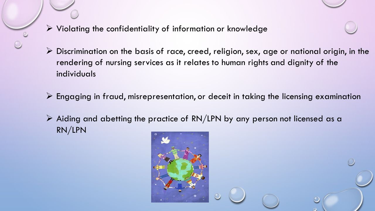 Violating the confidentiality of information or knowledge