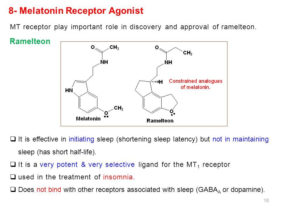 8- Melatonin Receptor Agonist