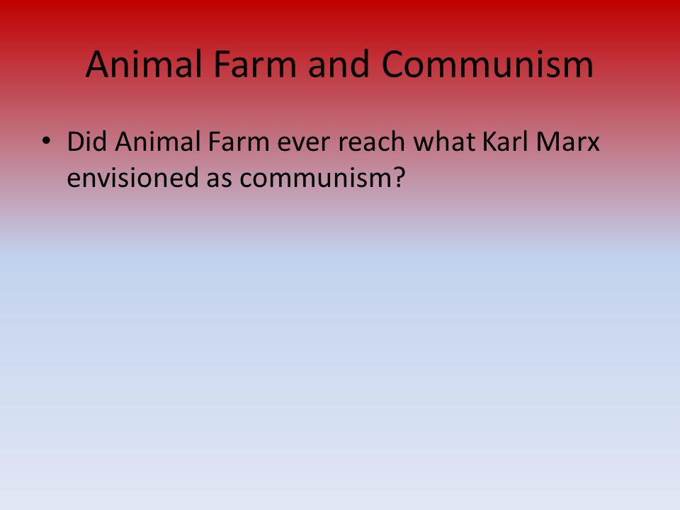 Animal Farm and Communism