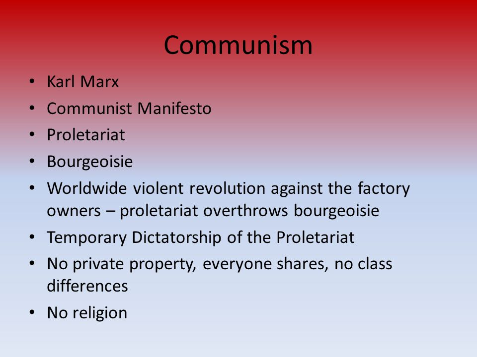 communist manifesto bourgeois and proletarians essay After opening the communist manifesto with a makes a bold statement to start the main body of this essay: the new clash between bourgeois and proletarians.