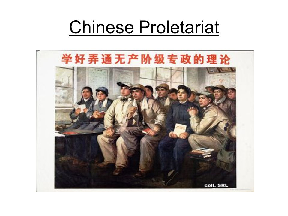 Chinese Proletariat