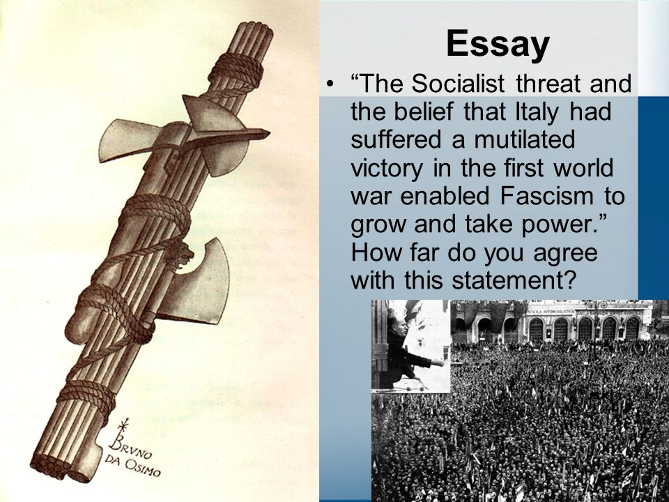 Italian Fascism