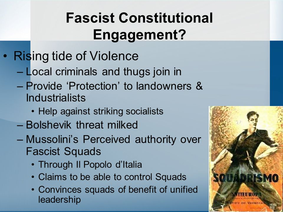 Fascist Constitutional Engagement