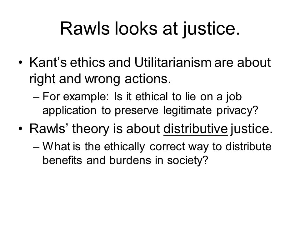 an analysis of classical utilitarianism by john rawls John rawls: a theory of justice (selections) multiple-choice  richard b  brandt: some merits of one form of rule utilitarianism bernard williams: a  critique of utilitarianism  rawls conceives of the original contract as one to:   rawls argues that parties in the original position would not accept utilitarianism  because.