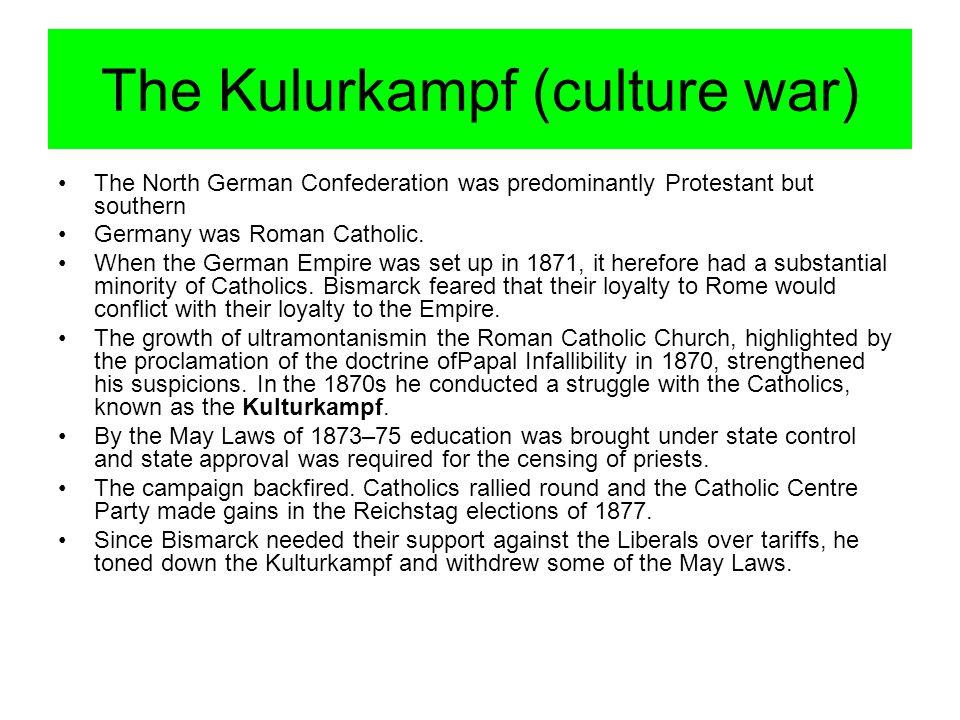 The Kulurkampf (culture war)