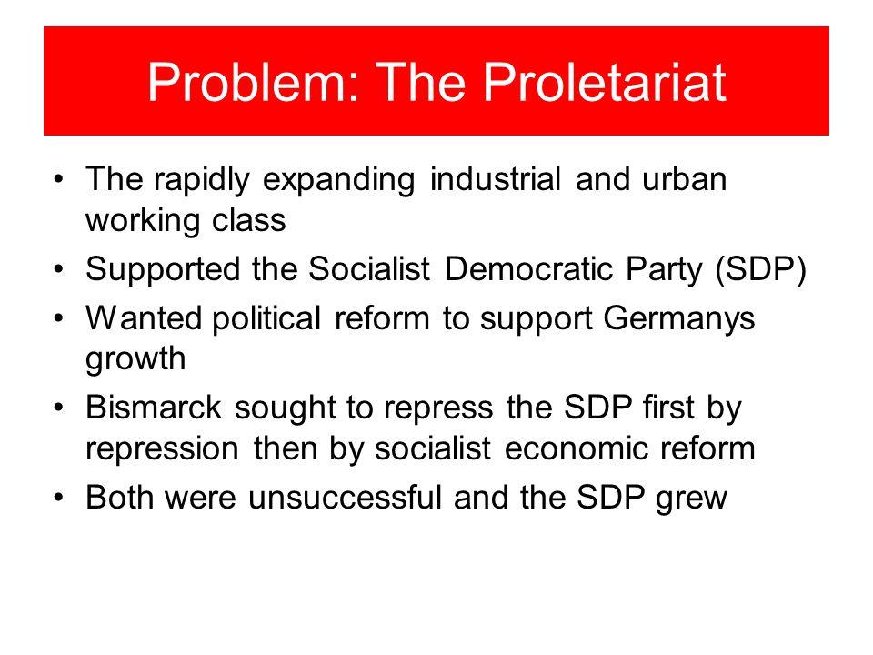 Problem: The Proletariat