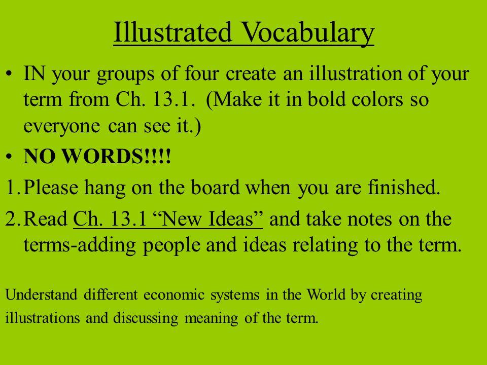 Illustrated Vocabulary