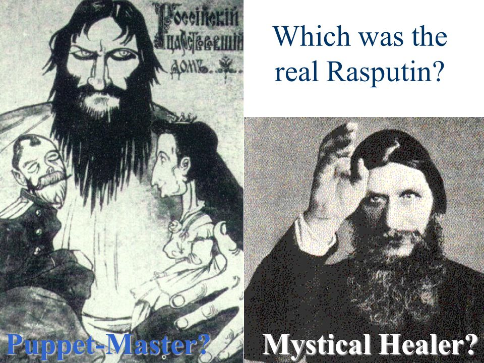Which was the real Rasputin