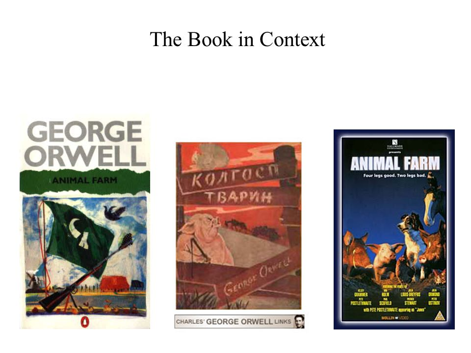 The Book in Context