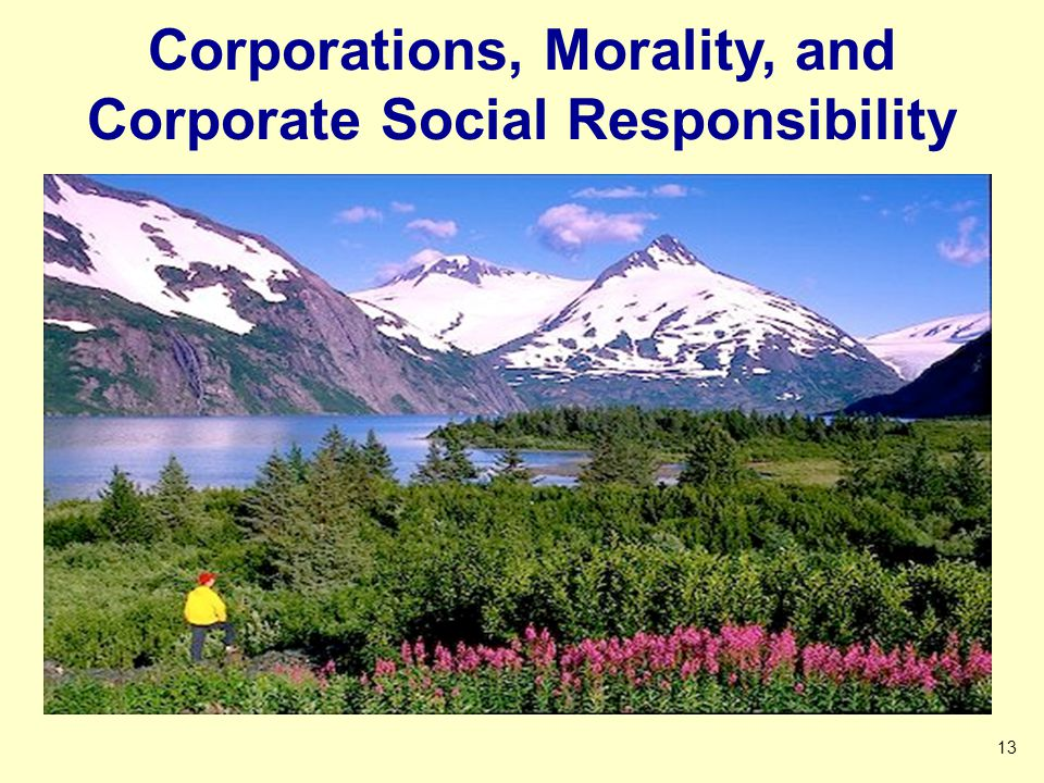 Corporations, Morality, and Corporate Social Responsibility