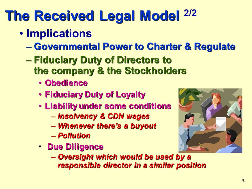 The Received Legal Model 2/2