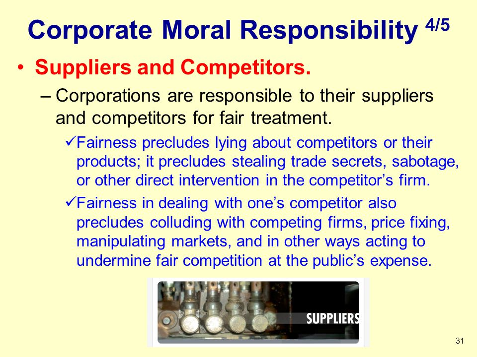 Corporate Moral Responsibility 4/5