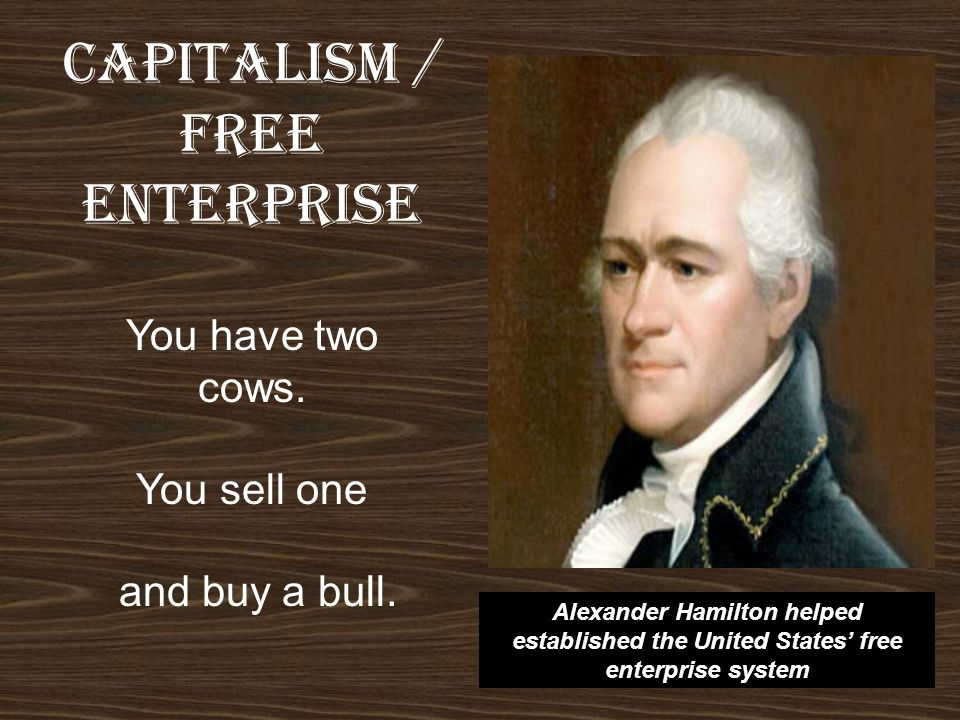 CAPITALISM / FREE ENTERPRISE