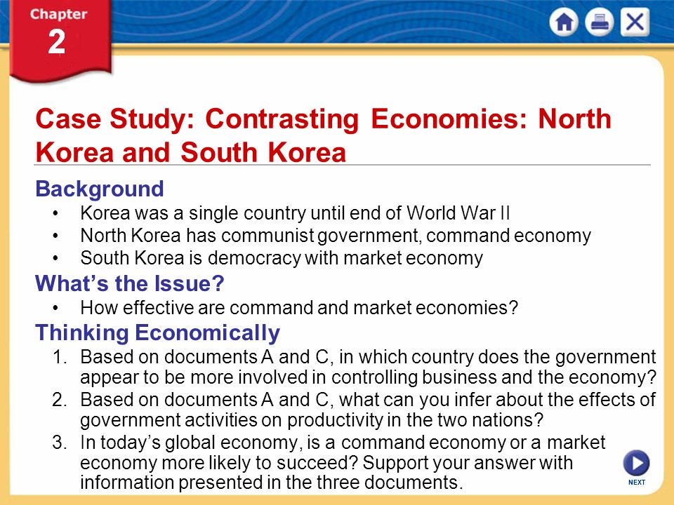 Case Study: Contrasting Economies: North Korea and South Korea