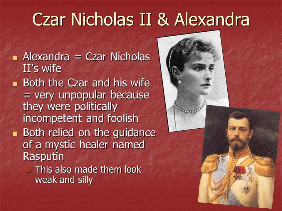 Czar Nicholas II & Alexandra