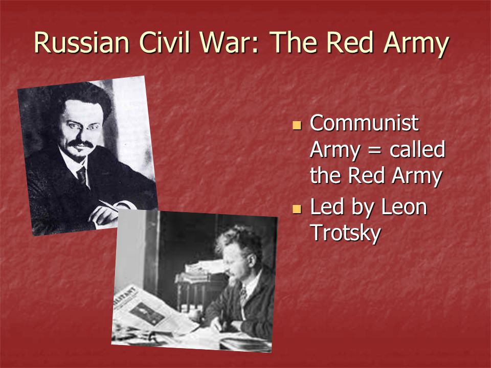 Russian Civil War: The Red Army
