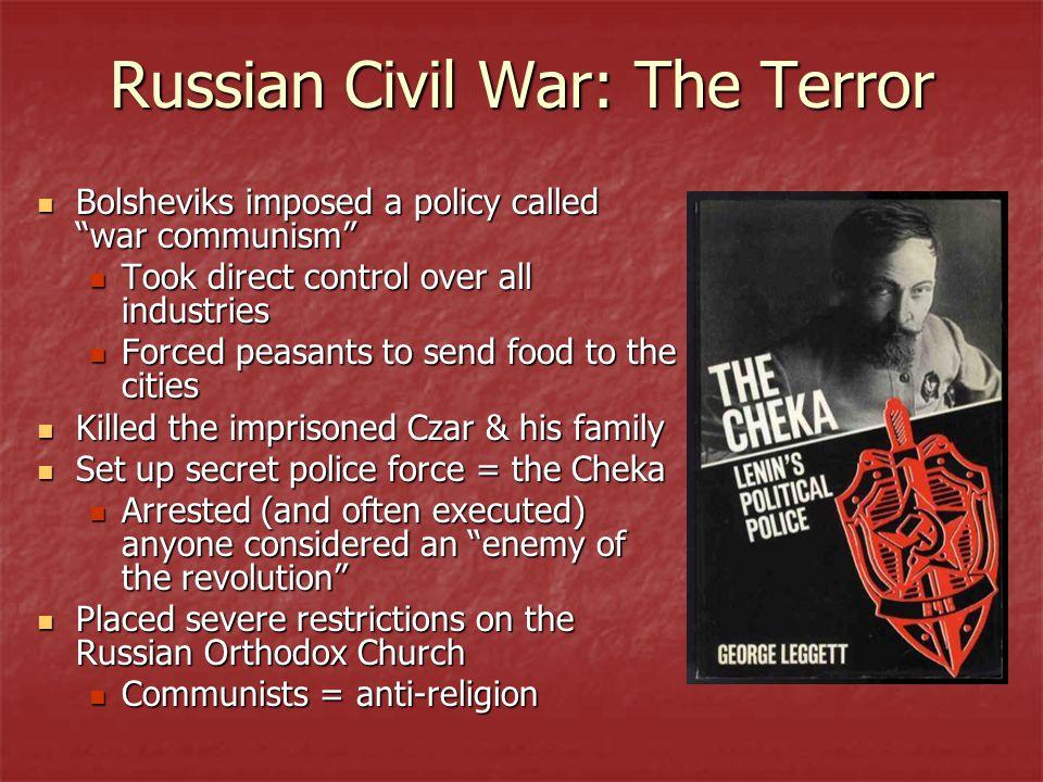 Russian Civil War: The Terror