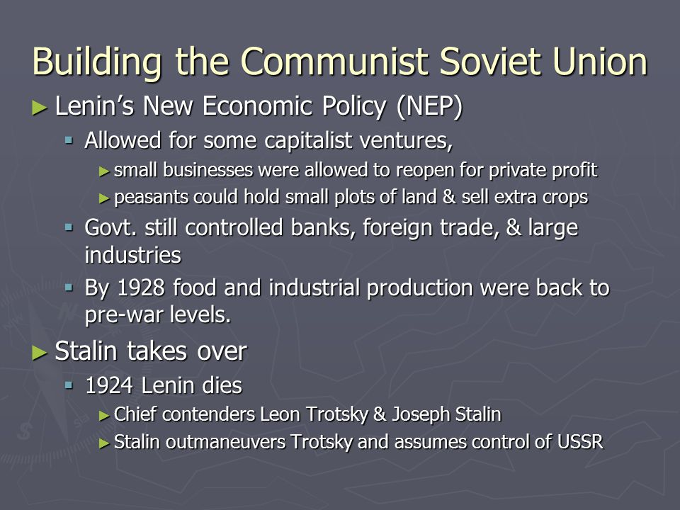 Building the Communist Soviet Union
